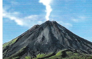 The Costa Rica Team supports the new infrastructure at Irazu Volcano